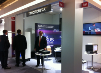 Spacecode Exhibits RFID Technology for the diamond and jewelry industry at Baselworld 2012