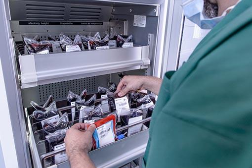 Blood Banks RFID Inventory Management