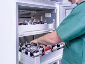 RFID Medical Fridge for Blood Banks